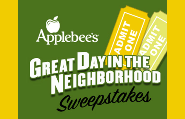 Great Day in the Neighborhood Sweepstakes