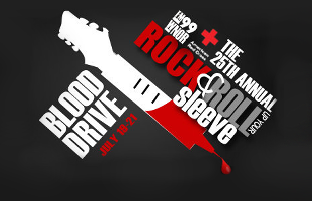 Rock and Roll Up Your Sleeve Blood Drive