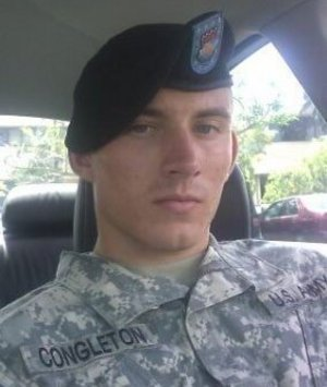 Cameron Congleton, US Army