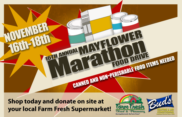 16th Mayflower Marathon