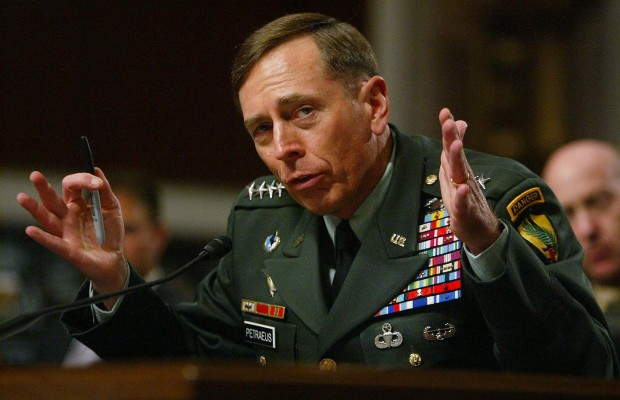 "CIA Director Petraeus is ""All Out"" of a job after an affair is made public"