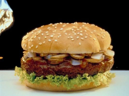 The First Hamburger in Space is Missing
