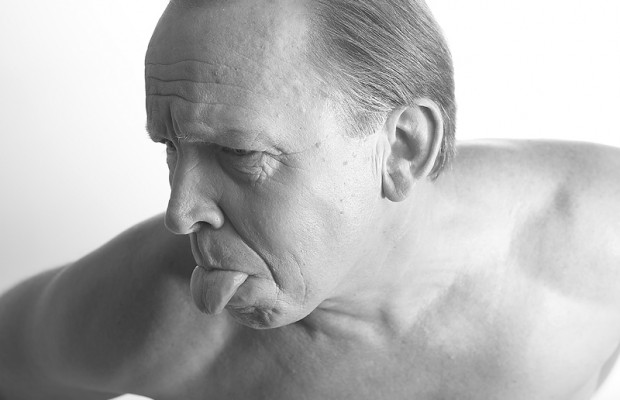 In an effort to win back his wife, a man cuts his tongue off