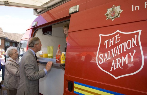 Do you have what it takes to be Salvation Army Strong?