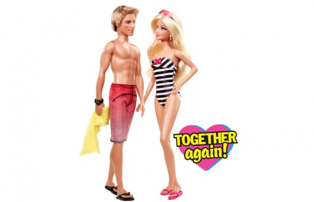 A sexually explicit display featuring Barbie and Ken is causing some problems