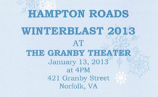 Hampton Roads Winterblast 2013