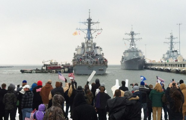 Welcome Home to the USS Cole