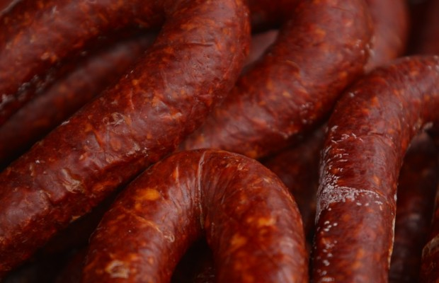 Frying pan full of sausage lands a Swedish woman in jail
