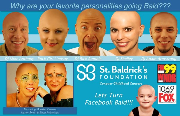 Go Bald for Pediatric Cancer Research