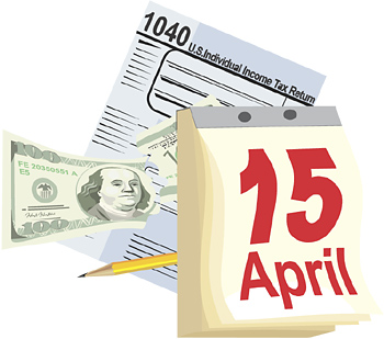 Final Day to submit Taxes, Tax day Free stuff and Baby Tossing
