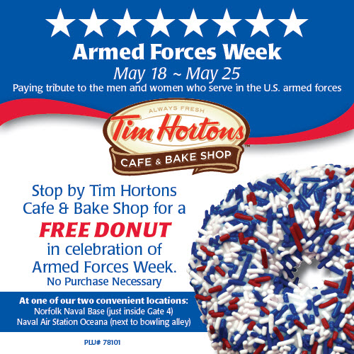 Armed Forces Week - Facebook and E-Blast Image