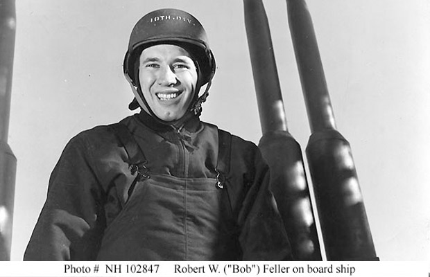 Nominations sought for Bob Feller Act of Valor Award