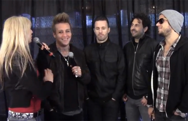 Shelley Interviews Papa Roach