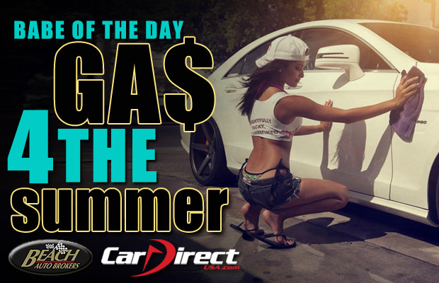 Babe of the Day Free Gas for the Summer