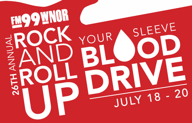 26th Annual Rock and Roll up Your Sleeve Blood Drive
