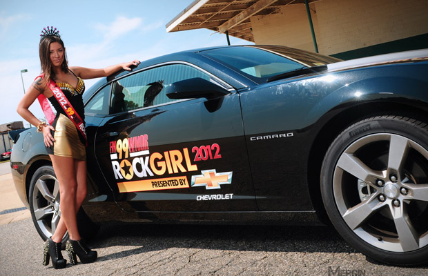 Meet RockGirl Gina at Scandals Bike Night