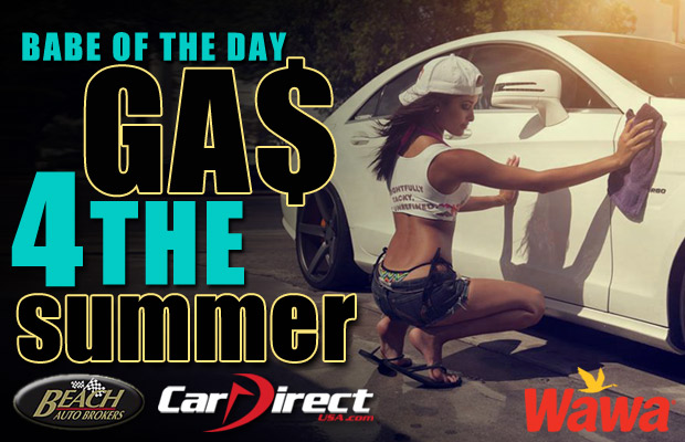 Babe of the Day Free Gas for the Summer Week 8