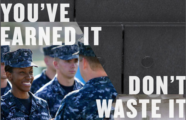 Naval Station Norfolk Hosts March to Support 'Keep What You Earned'