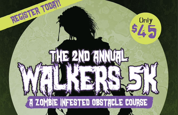Walkers 5K : A Zombie Infested Obstacle Course