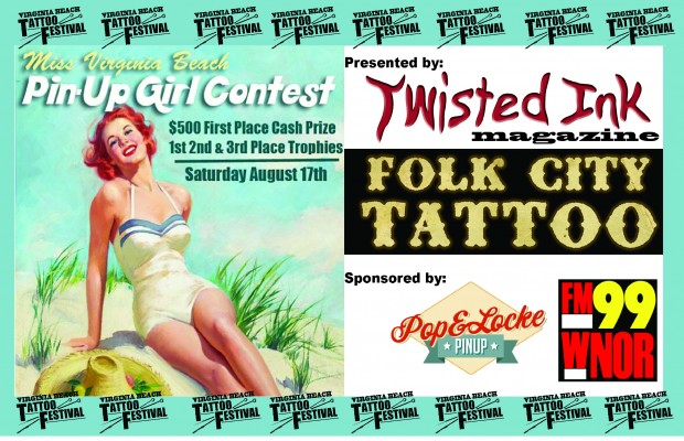 Virginia Beach Tattoo Festival PinUp Girl Contest
