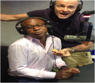 Tommy Davidson In Studio This Morning