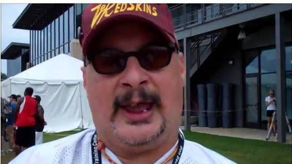 "VIDEO: Rod interviews the ""Greatest Redskins Fan Ever"""