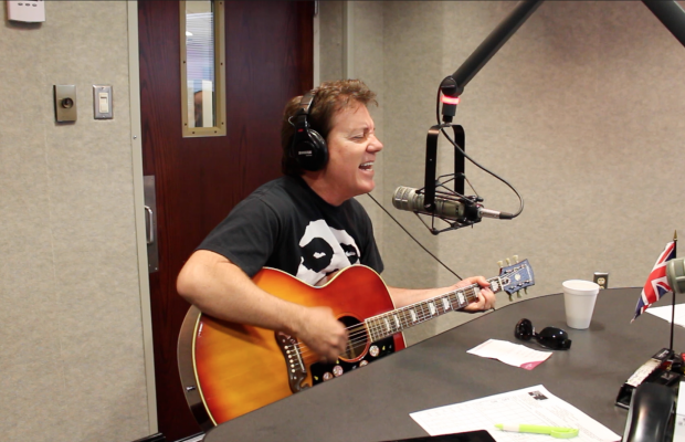 VIDEO: Brian Haner Rocks Out on Rumble in the Morning