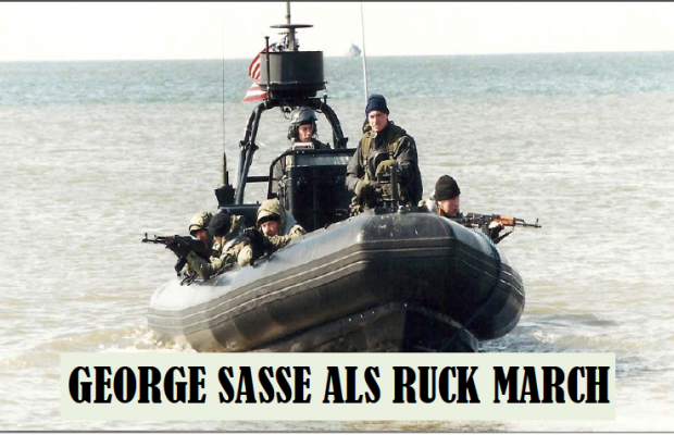 George Sasse ALS Ruck March