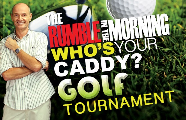 The Rumble in the Morning Who's Your Caddy Golf Tournament