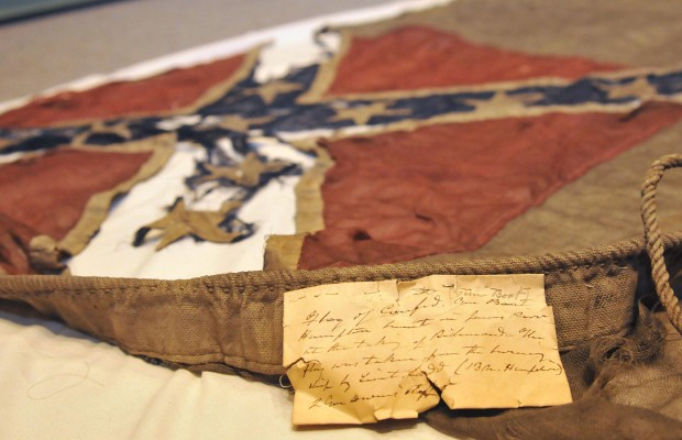 Confederate Naval Flag Falls into U.S. Navy Hands – After Nearly 150 Years