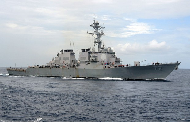 U.S. naval forces move closer to Syria
