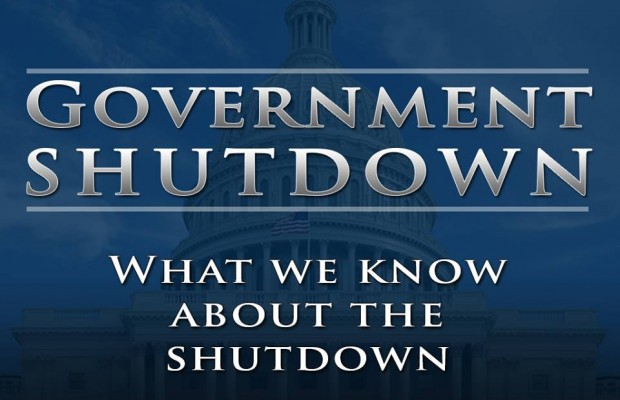 Information on Government Shutdown