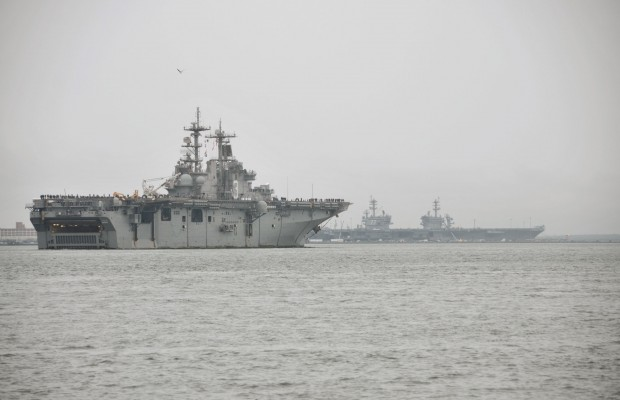Naval Station Norfolk Holiday Traffic and Gate Changes