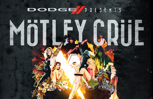 Motley Crue with Alice Cooper