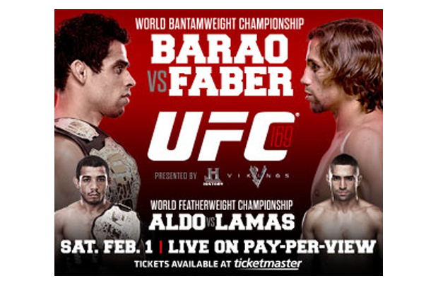 Win UFC 149: Faber vs Barao on DVD