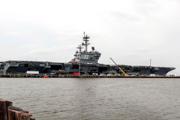George H.W. Bush Carrier Strike Group to Depart for Deployment