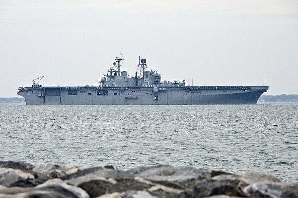 Bataan Amphibious Ready Group Enters U.S. 6th Fleet