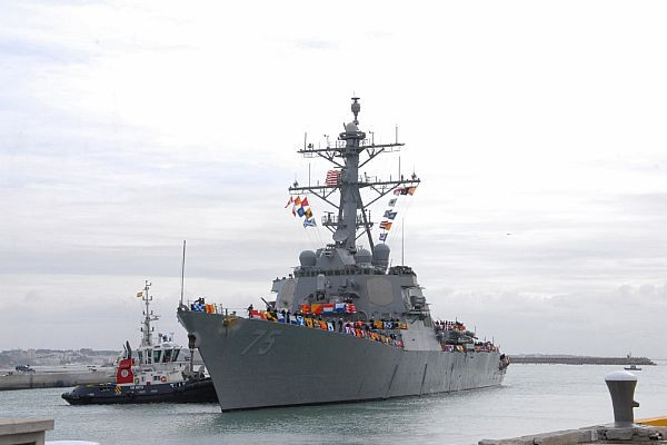 USS Donald Cook Begins Forward Deployment to Rota, Spain