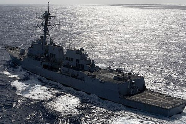 USS Kidd Expands Search for Malaysia Airlines Flight MH370 into Indian Ocean