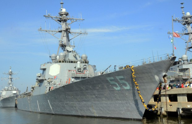 USS Stout Returns to Norfolk