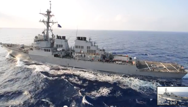 USS Ramage Returns from Deployment