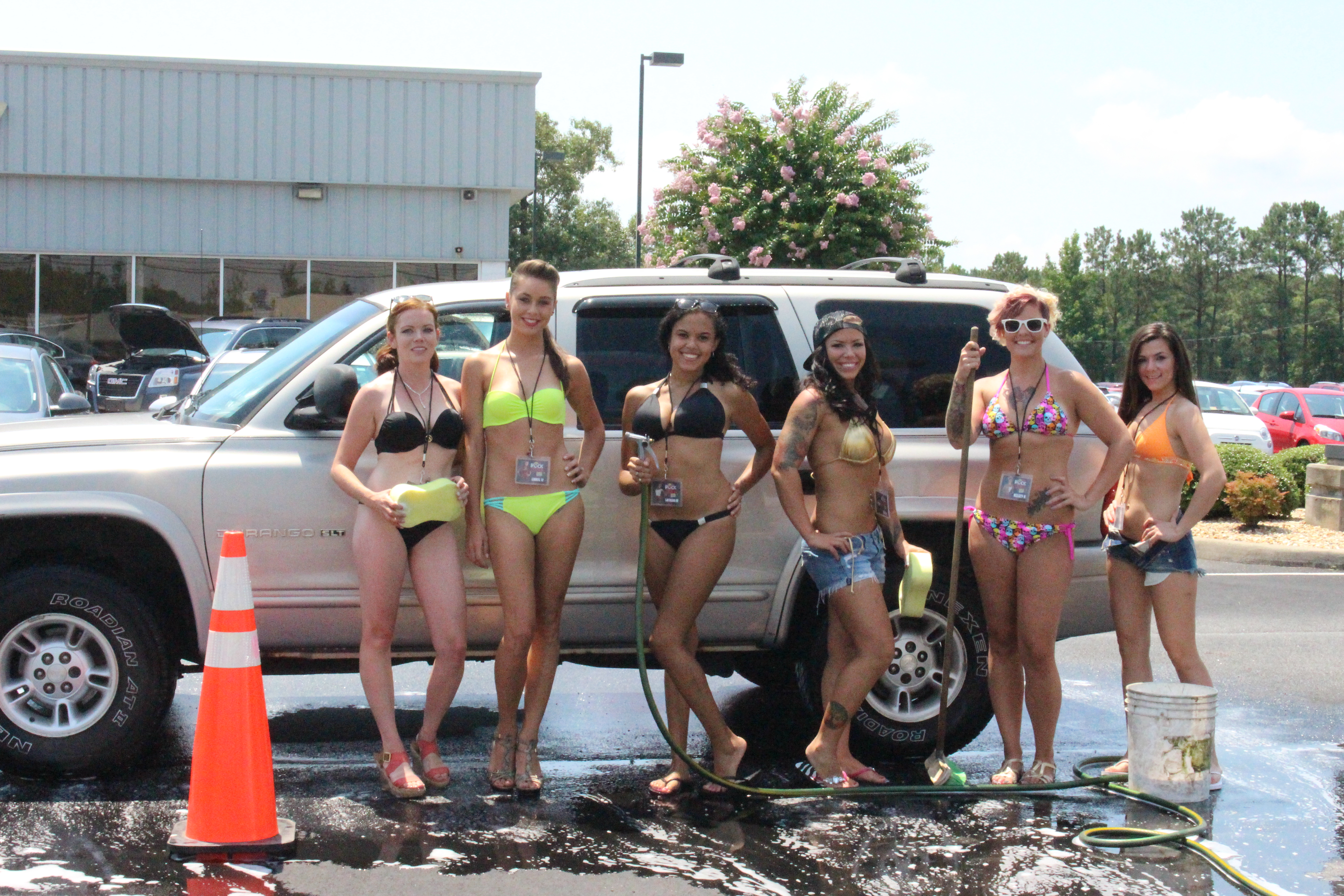 from Lance hand car wash girls