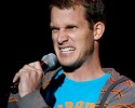 In this photo provided by the South Beach Comedy Festival comedian Daniel Tosh performs, as part of the South Beach Comedy Festival, at the Lincoln Theater in Miami Beach, Fla. Friday, Jan. 23, 2009. The festival continues through Saturday Jan 24th. (AP Photo/South Beach Comedy Festival, Mitchell Zachs) ** NO SALES **