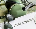 pilot logbook and other aviation tools